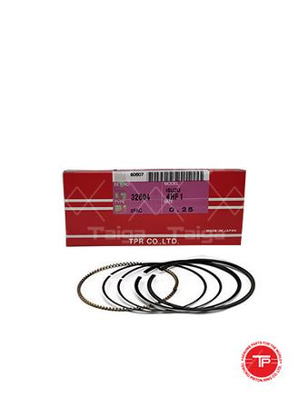 No Color color Piston Systems . TP Piston Ring 32604-0.25 set of  4 for  Isuzu Elf, 4HF1 -