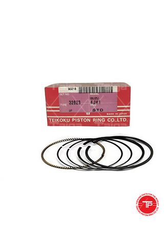 No Color color Piston Systems . TP Piston Ring 32623-STANDARD set of  4 for  Isuzu D-Max, 4JH1 -
