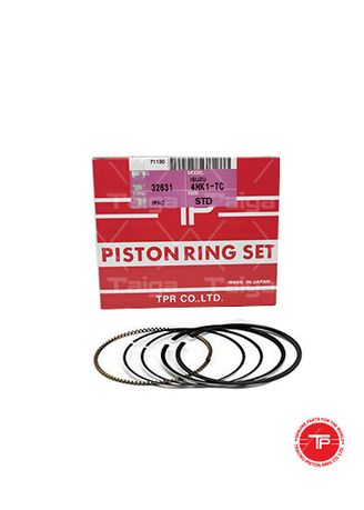 No Color color Piston Systems . TP Piston Ring 32631-STANDARD set of  4 for  Isuzu Elf, 4HG1, 4HK1-TC, 4HJ1 -