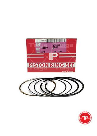 No Color color Piston Systems . TP Piston Ring 33850-0.25 set of  6 for  Mitsubishi Truck, Bus, 6D10, 6D11 -