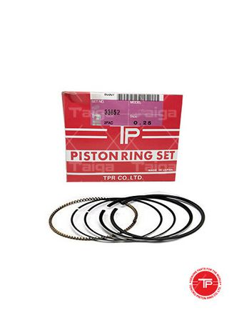 No Color color Piston Systems . TP Piston Ring 33852-0.25 set of  6 for  Mitsubishi Truck, Bus, 6D20, 6D21 -