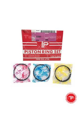 No Color color Piston Systems . TP Piston Ring 33861-STANDARD set of  4 for  Mitsubishi Galant Sigma, Galant Sapporo, L300, 4D56-NA, 4D55-NA -