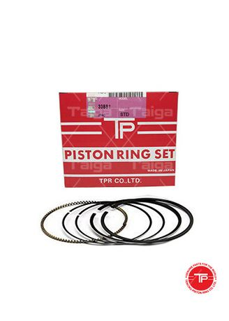 No Color color Piston Systems . TP Piston Ring 33881-STANDARD set of  6 for  Mitsubishi Truck, Bus, 6D20B, 6D21B -