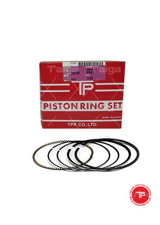 No Color color Piston Systems . TP Piston Ring 34022-0.25 set of  4 for  Nissan Cedric Diesel, Laurel diesel, Caravan, Caball, Cabstar, Bida, Pick-up, SD20, SD22 -