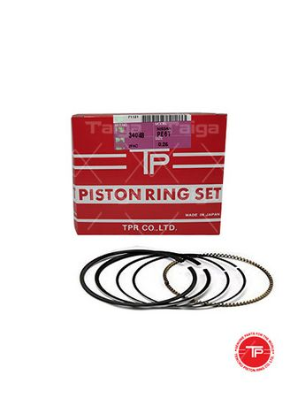 No Color color Piston Systems . TP Piston Ring 34048-0.25 set of  6 for  Nissan Truck, PD6T -