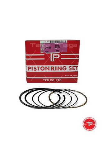 No Color color Piston Systems . TP Piston Ring 34048-STANDARD set of  6 for  Nissan Truck, PD6T -