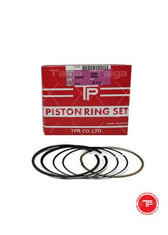 No Color color Piston Systems . TP Piston Ring 34049-STANDARD set of  6 for  Nissan Truck, PE6T -