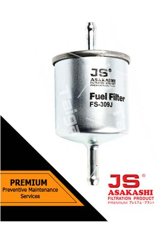 No Color color Fuel Filters . JS Asakashi Fuel Filter FS-309J for Suzuki Every 1991 - 1998 -