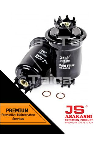 No Color color Fuel Filters . JS Asakashi Fuel Filter FS-6001U for Suzuki Carry 1990 - 1991 -