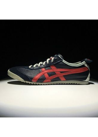 Multi color Casual Shoes . Onitsuka Tiger Deluxe Navy List Red Made In Japan -