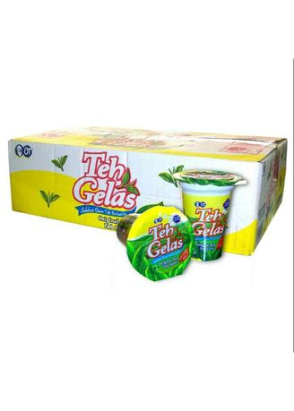 No Color color Soft Drinks . Teh Gelas 1 dus -