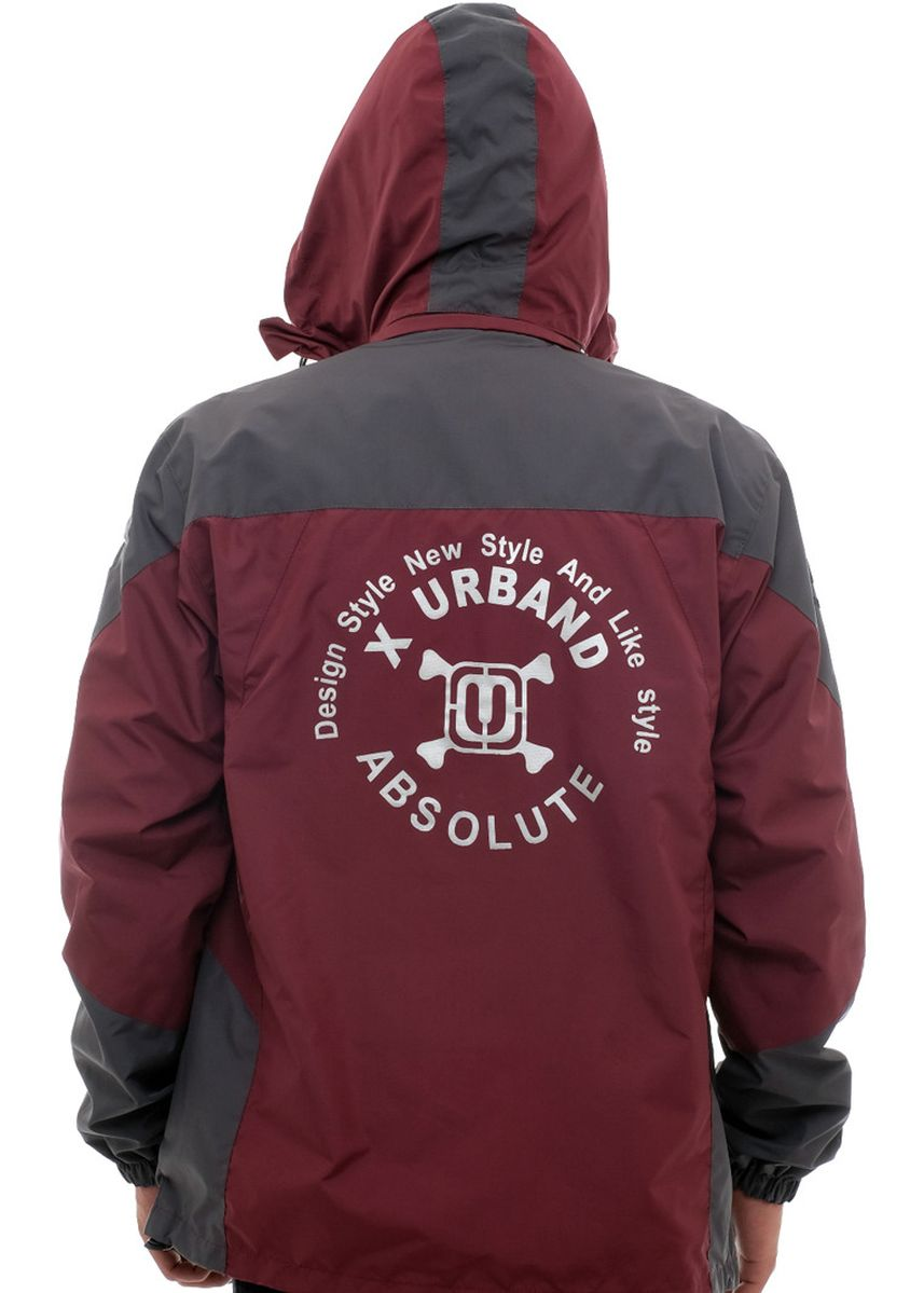 Maroon color Jaket & Coat . X-Urband Official - Jaket Outdoor Pria (Maroon) A021 -