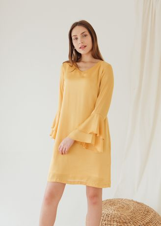 Gold color Dresses . WM Eloize Dresses -