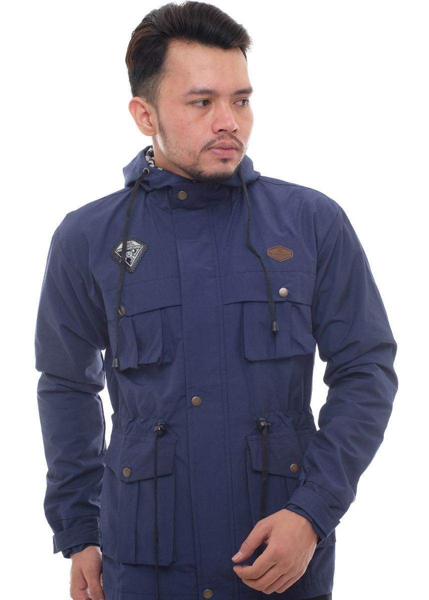 Navy color Outerwear . X-Urband Official - Jaket Paka Pria (Navy) A031 -