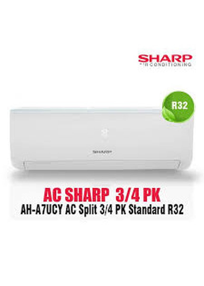 No Color color Air Conditioners . AC SHARP 3/4 PK AH A7UCY UNIT -