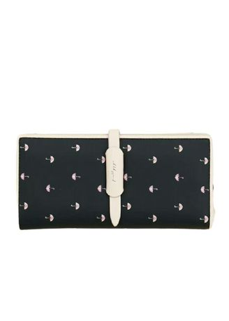 Black color Wallets and Clutches . Dompet Wanita Slot Volca -