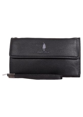 Wallets and Clutches . Tas Tangan Polo Classic 1623-19 Black -