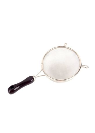 Silver color Kitchen . HQ Strainer with Plastic Handle, 21cm -
