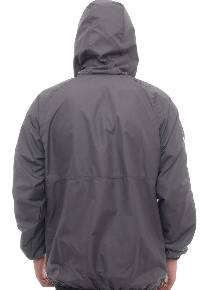 Grey color Outerwear . X-Urband Official - Jaket Cagoule Pria (Abu) A043 -