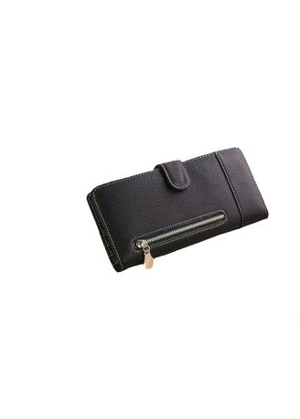Black color Wallets and Clutches . Dompet Wanita Sleting Cantik -