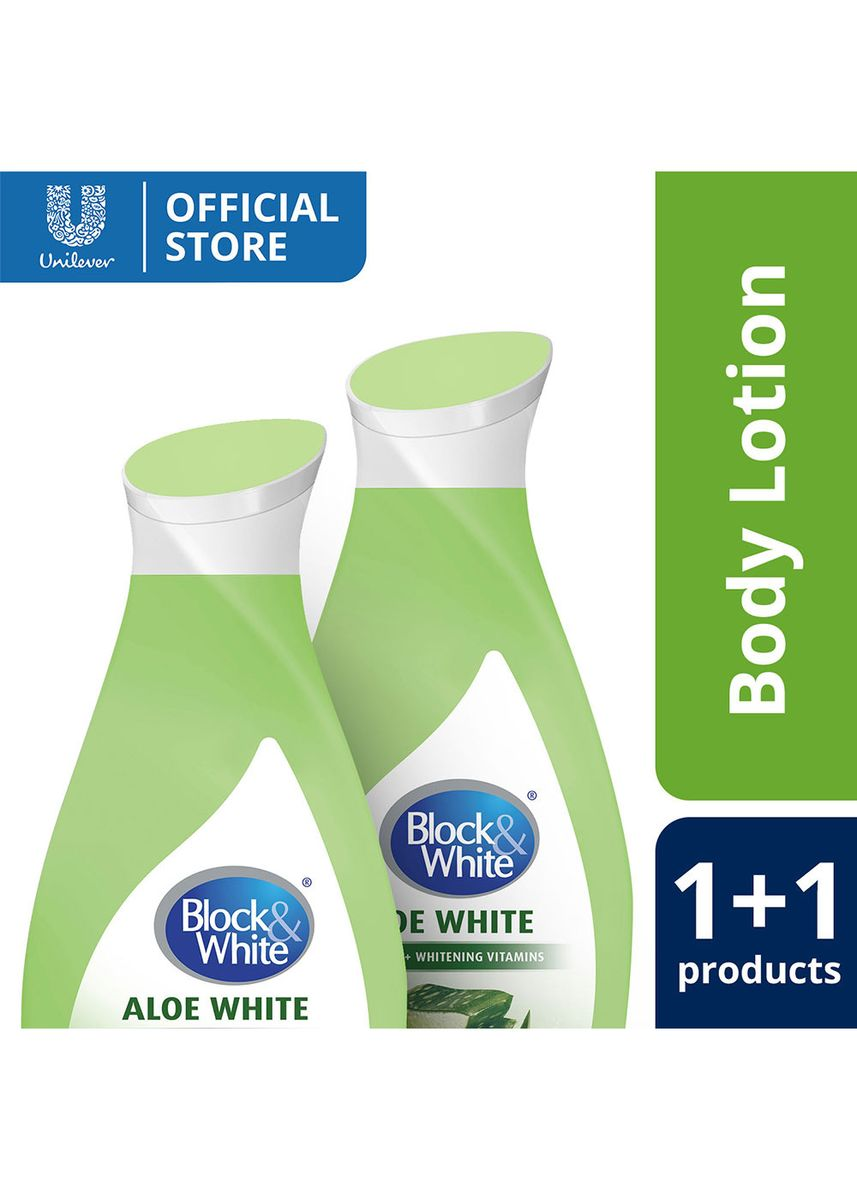 Green color Other . Block & White Lotion Aloe White 230ML Special Offer -