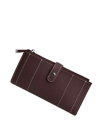 Brown color Wallets and Clutches . Dompet Wanita Calisa -