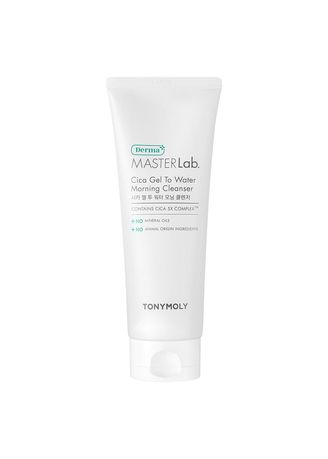 No Color color Toner & Cleanser . TONY MOLY Derma Master Lab Gel To Water Morning Cleanser 185ml -