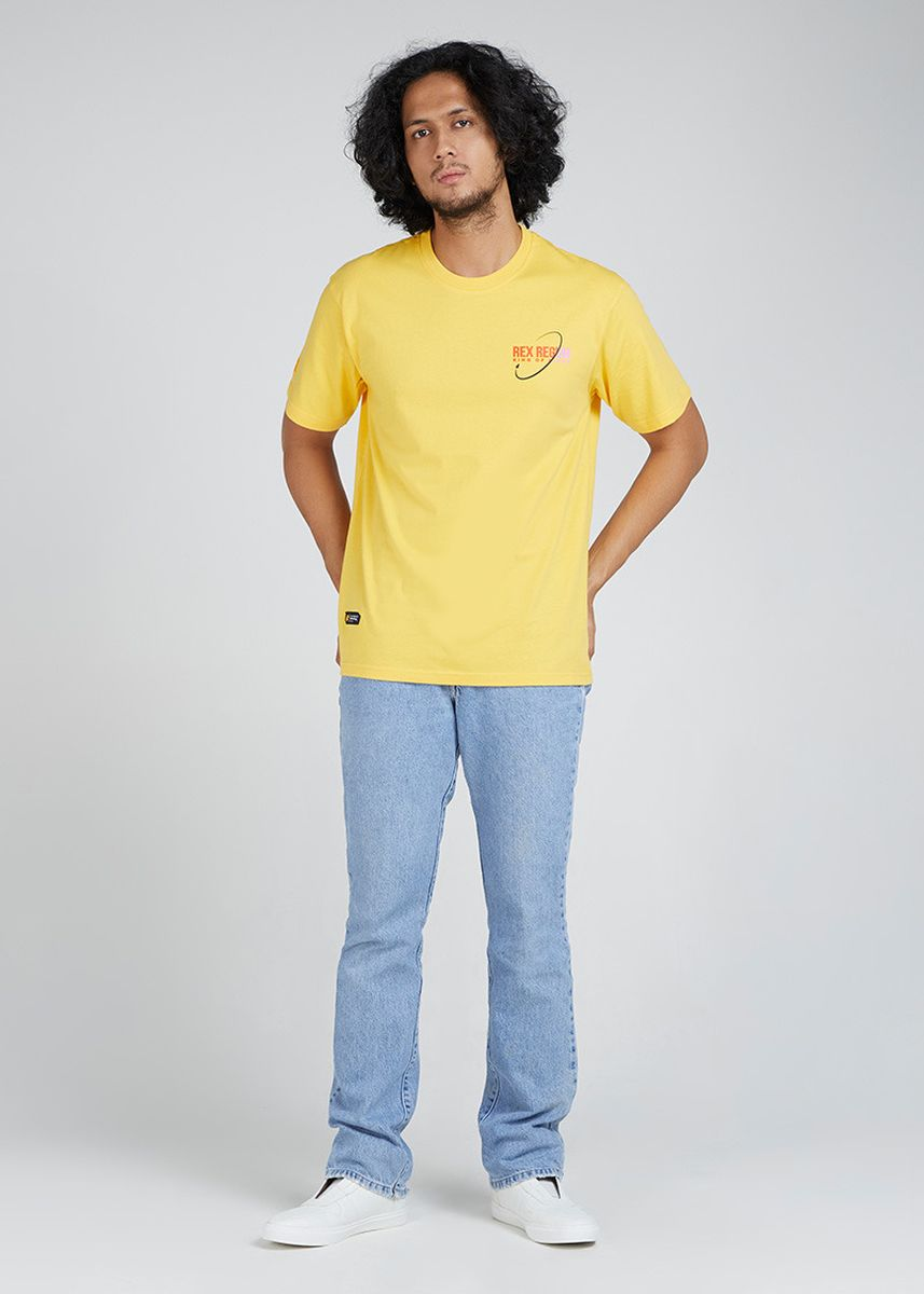 Kuning color Kaus Oblong & Polo . Rex Regum Orion -