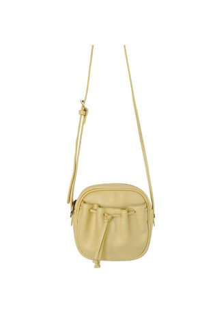 Yellow color Messenger Bags . All-match Simple One-shoulder Diagonal Bag -