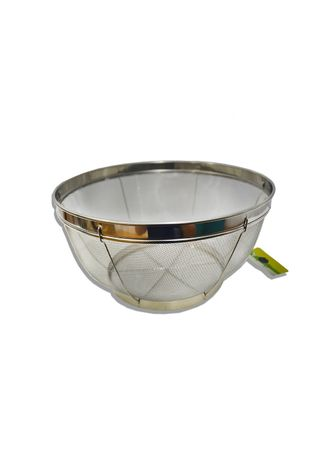 Silver color Kitchen . Stainless Steel Stable Mesh Basket, 19cm -