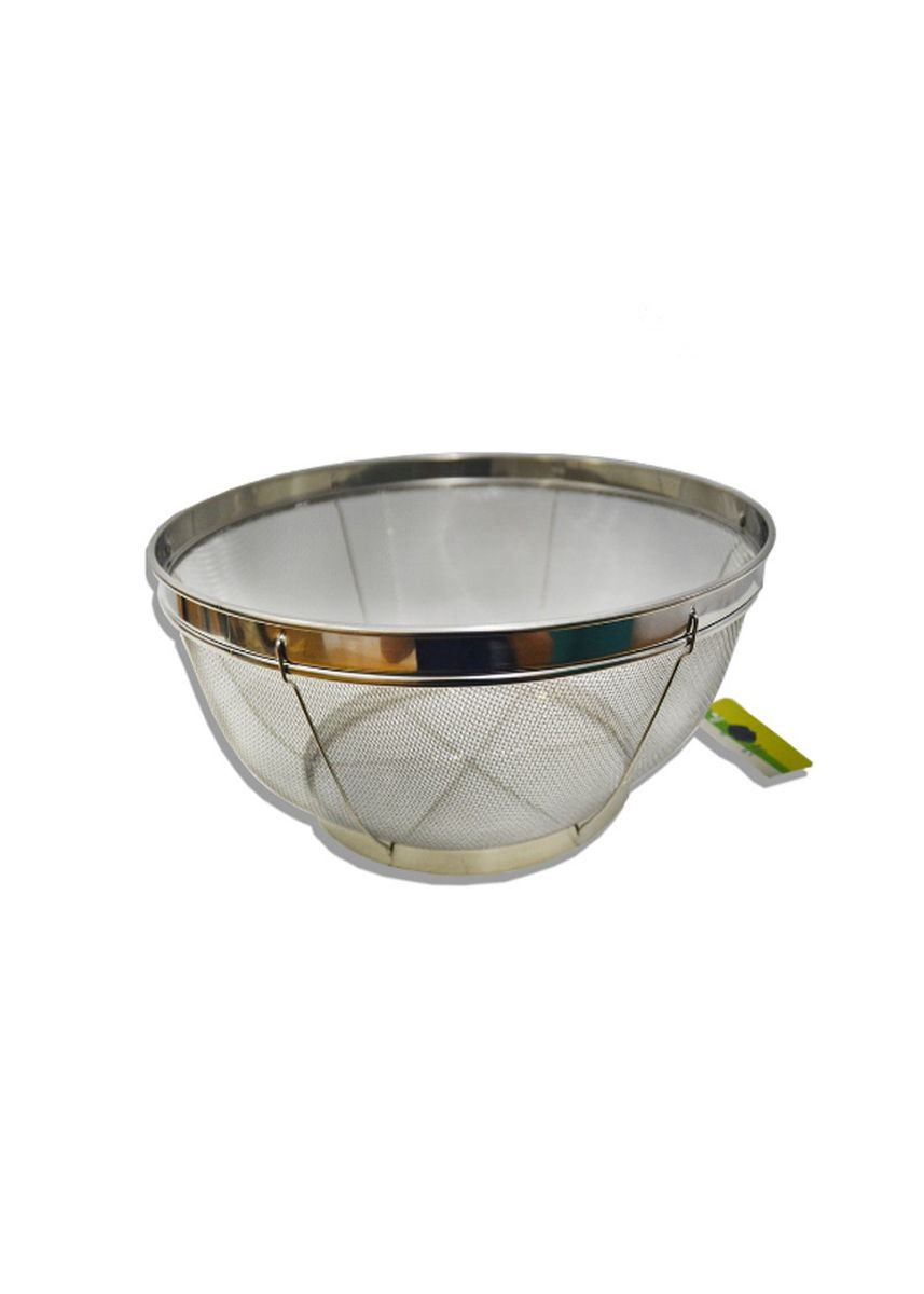 Silver color Kitchen . Stainless Steel Stable Mesh Basket, 31cm -