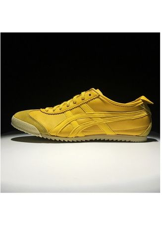 Yellow color Casual Shoes . Onitsuka Tiger Deluxe Original Made In Japan Yellow -