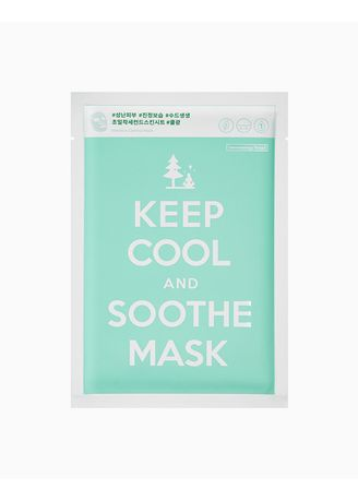 No Color color Masks . Keep Cool and Soothe Mask -