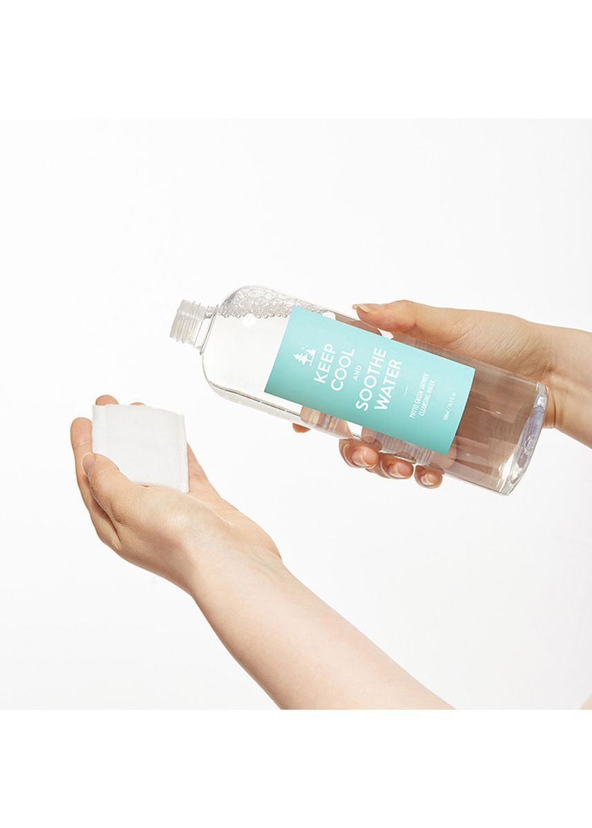 No Color color Toner & Cleanser . Keep Cool and Soothe Water 500ml -