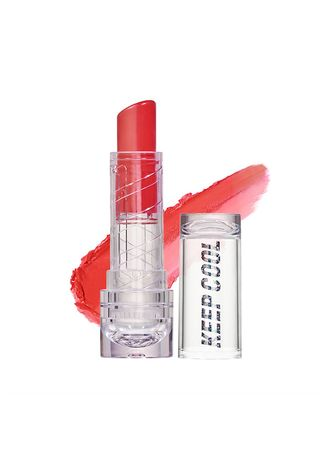 White color Lips . Keep Cool Double Sensational Lip   Juicy Coral -
