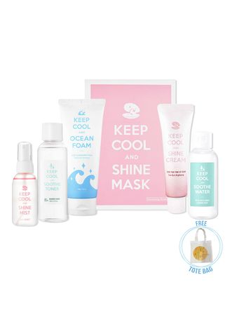 White color Other . Keep Cool PH Overnight Skin Care Set 1(Men & Women) -