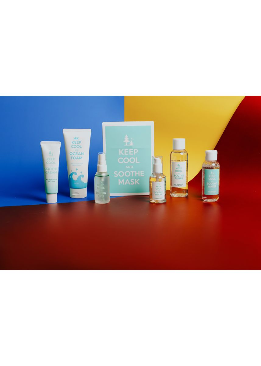 White color Other . Keep Cool PH Overnight Skin Care Set 3 (Men & Women) -