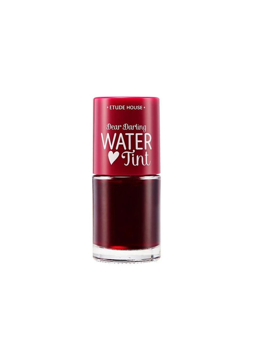 Red color Lips . ETUDE HOUSE Dear Darling Water Lip Tint 9.5g -