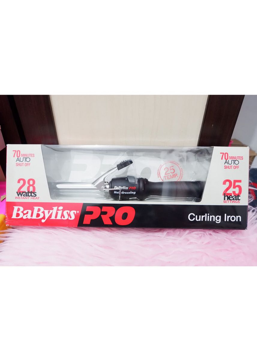 Hitam color Styling Rambut . Curling iron stenliss 16mm-BAB2262HK -