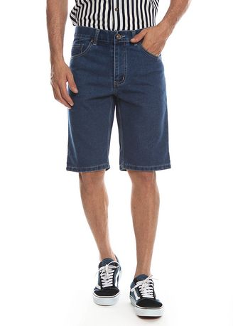 Blue color Shorts & 3/4ths . 2nd Red Celana Pendek Denim Classic SR2011 -