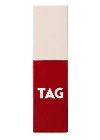 Red color Lips . Too Cool For School Tag Velvet Fit Lip Tint No. 4 -