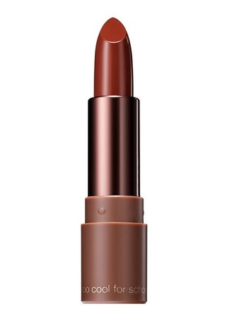 Brown color Lips . Too Cool For School Glam Rock Hershey Brown Lipstick 05 3.5g -