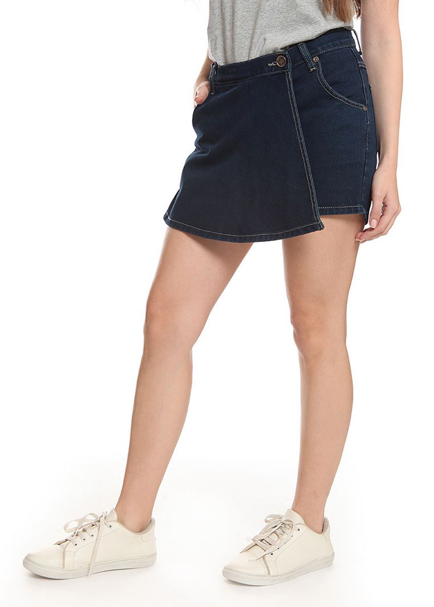 Navy color Skirts . 2nd Red Skirt Pants Jeans-Rok Celana RC02 -