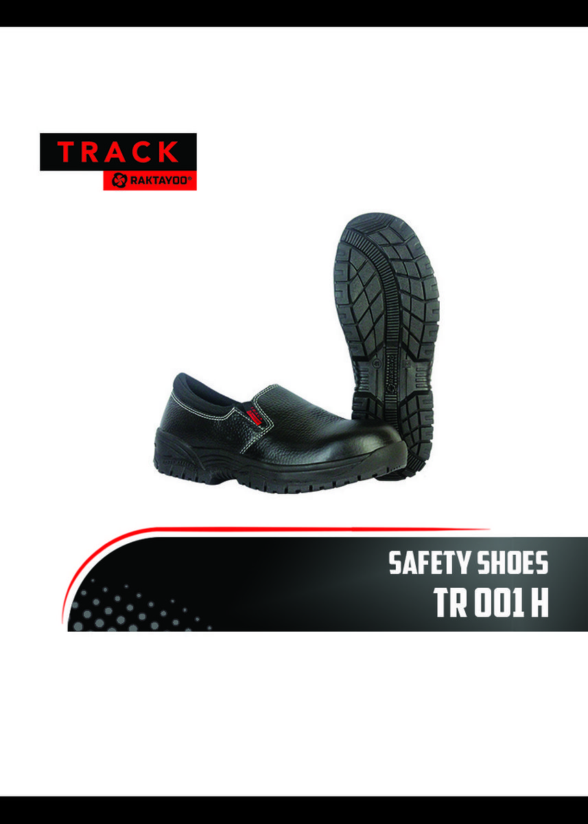"Hitam color Safety Clothing . Safety Shoes ""TRACK RAKTAYOO"" TR 001 H - Size 43 -"