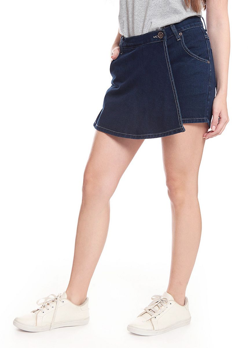Navy color Skirts . 2nd Red Skirt Pants Jeans-Rok Celana RC03 -