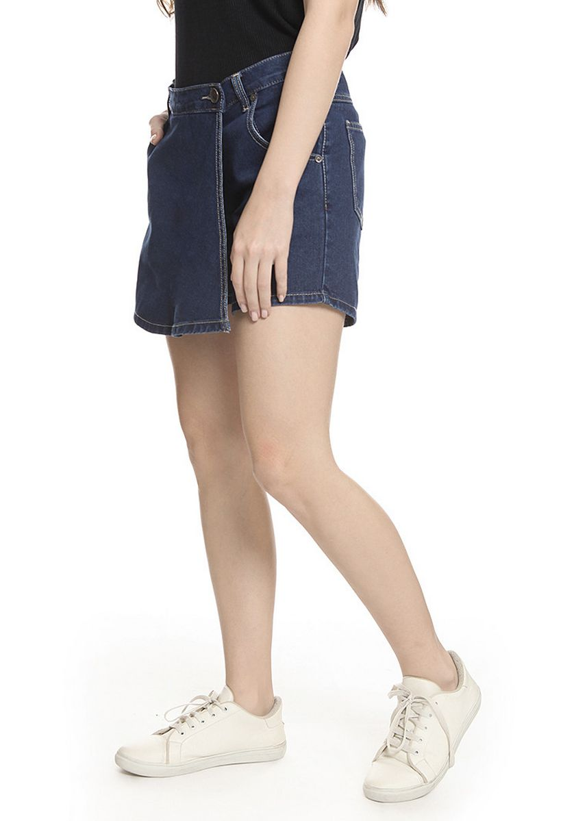 Navy color Skirts . 2nd Red Skirt Pants Jeans-Rok Celana RC04 -
