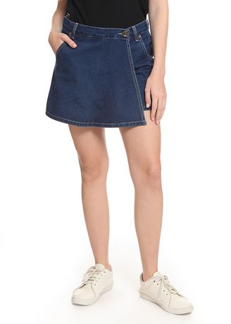 Blue color Skirts . 2nd Red Skirt Pants Jeans-Rok Celana RC05 -