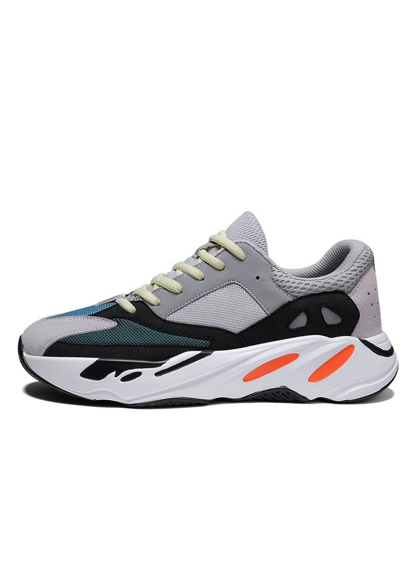 Grey color Sports Shoes . Net Men's Korean Style Mesh All-match Sneakers -