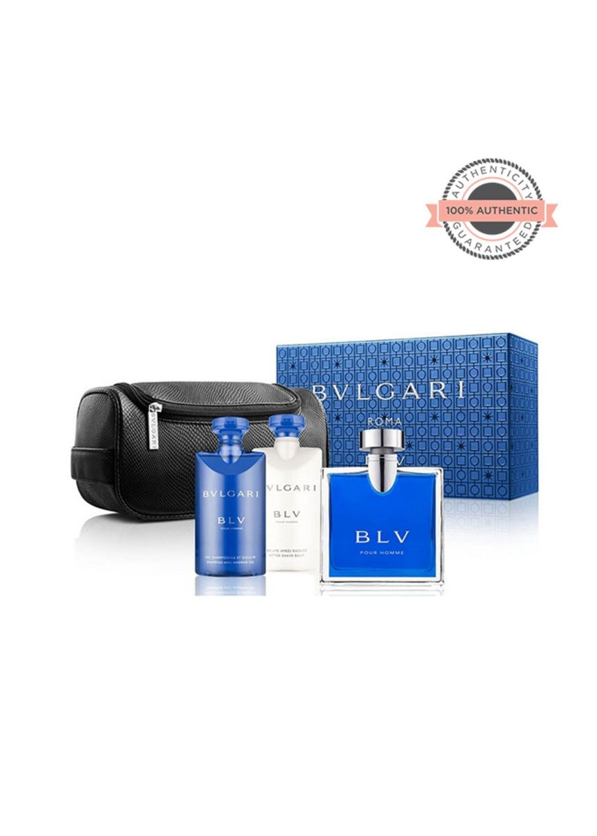 No Color color Fragrances . YOUR FAV BOX Bvlgari Blv Pour Homme 491078 Spring 17 100ML+75SSG Pouch Set Ph -