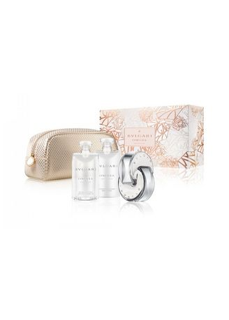 No Color color Fragrances . YOUR FAV BOX Bvlgari Crystaline EDT 65ML+75ML BL+75 SGEL+ Pouch Set -
